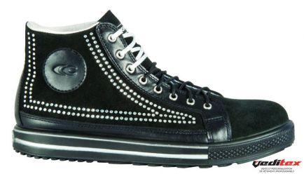 regard détaillé 1420b c606d Chaussure de sécurité en cuir et tissu S1 P SRC POINT [COFRA ...