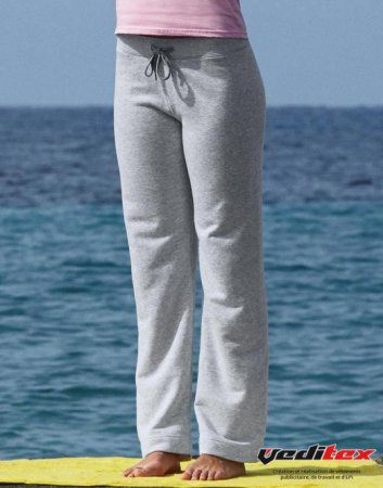 a52ddeb7c6edd pantalon jogging femme coton