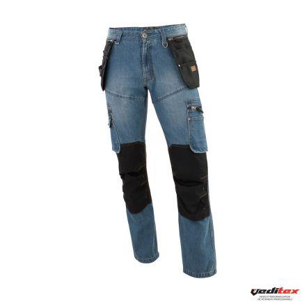 Jeans de travail puls molinel - Pantalon de cuisine molinel ...