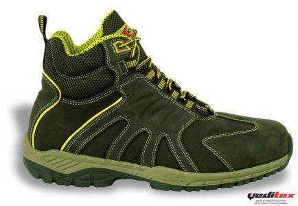 design de qualité 6adef d7f8b Chaussure de sécurité haute, légère en NUBUCK S3 SRC LIFT ...
