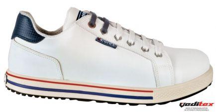 Chaussure d sécurité type converse en cuir S3 SRC ASSIST ...