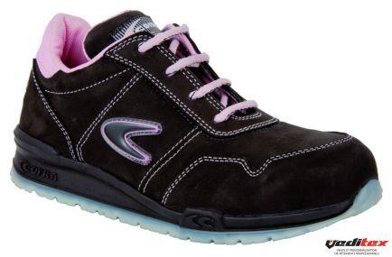chaussures élégantes artisanat de qualité haut de gamme authentique Chaussure de sécurité femme légère S3 SRC ALICE [COFRA ...