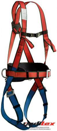 Harnais complet- ceinture, 2 anneaux textile et sous fessière 71055 ... f5682ad2230