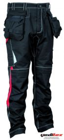 "Pantalon de travail bi colore en stretch LEIRIA  "" V481"