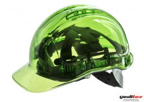 Casque de protection de couleur transparente PV 54