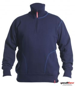 Sweat shirt à col montant 8014-136