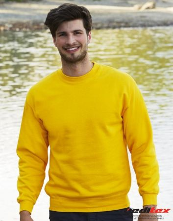 "Sweat shirt col rond, 280 g/ m2, 80/20 coton/polyester ""216.01"""