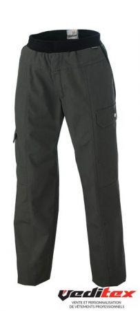 Pantalon De Cuisine Homme Avec Ceinture Eponge Elastique Exalt R