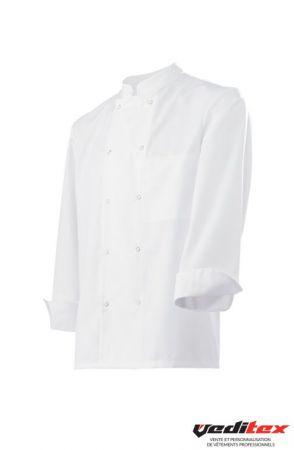Veste De Cuisine Chef A Pressions Vdnsp 1234 Molinel Vestes De