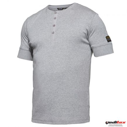 "Tee shirt avec patte boutons, 220 g/m2 ""PAPY"""