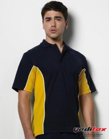 "Polo bicolore homme, 200 g/ m2 65/35 coton polyester GAMEGEAR  ""KK475/ 547.11"""