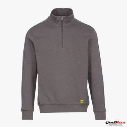 Sweat shirt de travail EAGLE, col zippé  161206