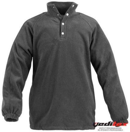 "Pull polaire, 100 % polyester  340g/m2 ""5PPO"""