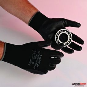 "Gant de protection des mains 100% polyamide enduction nitrile ""NITRIFLEX"""