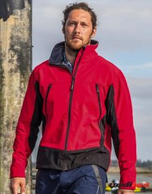 "Veste softshell  bi couleur  ACTIVITY ""438.33"""
