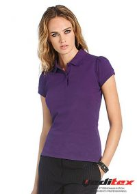 "Polo HEAVYMILL femme 230 g/m2 100% coton ""595.42"""