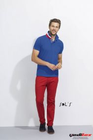 "Polo homme 100% coton bleu, blanc rouge PATRIOT  ""00576"""