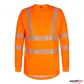 Tee shirt manches longues avec bouton 9251-182
