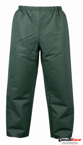 "Pantalon de pluie enduction PVC souple; 310 g/m2  ""PTU250"""
