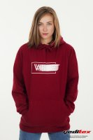 "Sweat shirt à capuche unisex , 300 g/m2 logoté  ""VIBES Faded"""