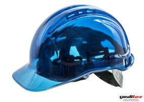 "Casque de protection de couleur transparente  ""PV 54"""