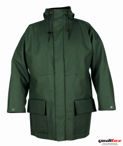 Veste de pluie enduction PVC souple, 270 g/ m2  RAINBOW