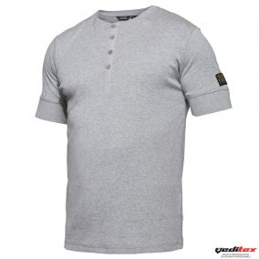 "Tee shirt avec patte boutons, 220 g/m2 ""PAPY"" 0929-565"