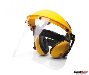 "Casque de protection du visage  et antibruit  ""PW90"""