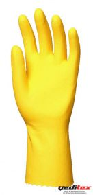 "Gants latex naturel ménage jaune Super 5000 ""5030"""