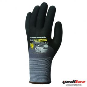 "Gants de protection des mains en nylon spandex, enduction nitrile picots "" 1NIDG"""