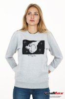 Sweat shirt col rond 280 g/m2 logoté No Regrets